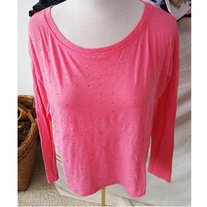 Hot Pink Sparkle Top